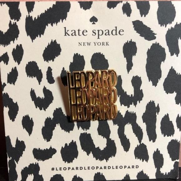 kate spade Jewelry - Kate Spade ♠️ Leopard Pin